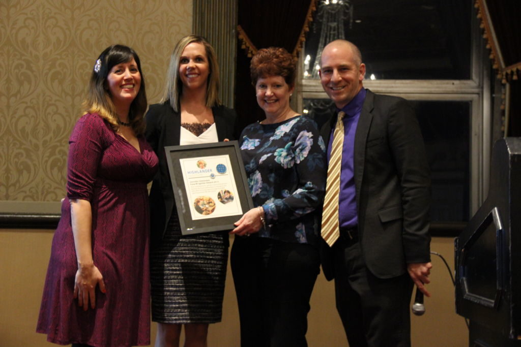 Cohort 1 Fellow Jen Simoneau wins the first ever Fuse Igniter Award at the Cohort 2 Induction Ceremony, November 2015