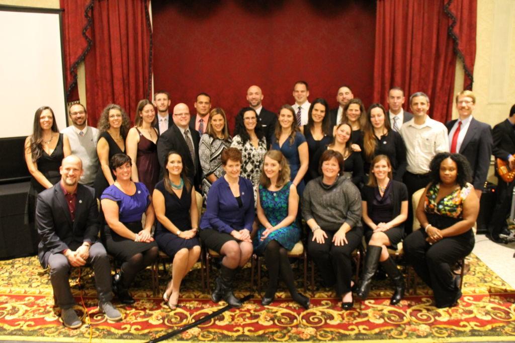 Cohort 1 Induction Ceremony, November 2014